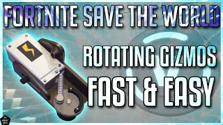 FORTNITE STW: HOW TO FIND ROTATING GIZMOS FAST & EASY! [STW BEGINNER TIPS]