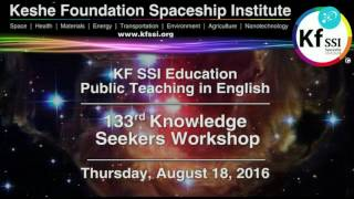 133rd Knowledge Seekers Workshop August 18 2016