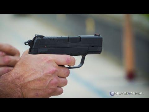 The XD-E - Springfield Armory's DA/SA Hammer-Fired Pistol: Guns & Gear | S9 E1