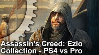 Скачать 4K Assassin S Creed The Ezio Collection PS4 Pro PS4 Analysis Frame Rate Test
