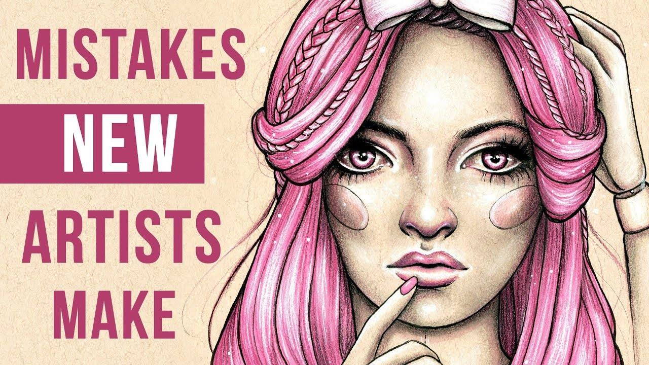 7 mistakes new artists make sketch with me art talk