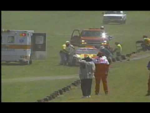 1996 Winston Select 500 - Bill Elliott Crash