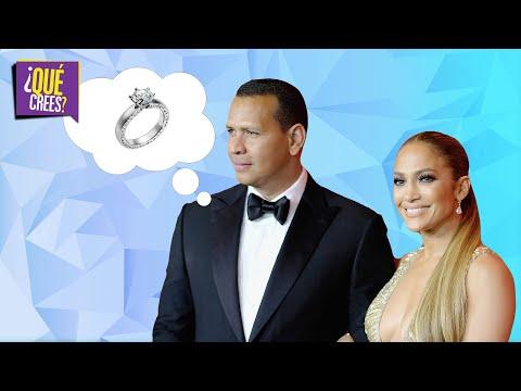 ¿Y el anillo pa' cuando?: Alex Rodriguez le responde a su novia Jennifer López | Qué Crees