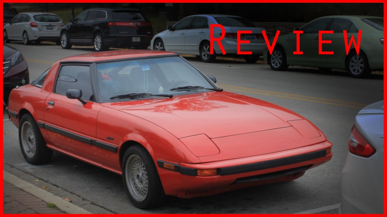 1985 Mazda Rx7 GSL Review