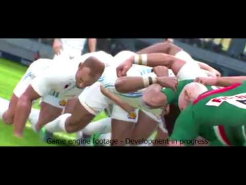 Rugby 18 Gameplay Commentary - The Creation of Rugby 18's Commentary