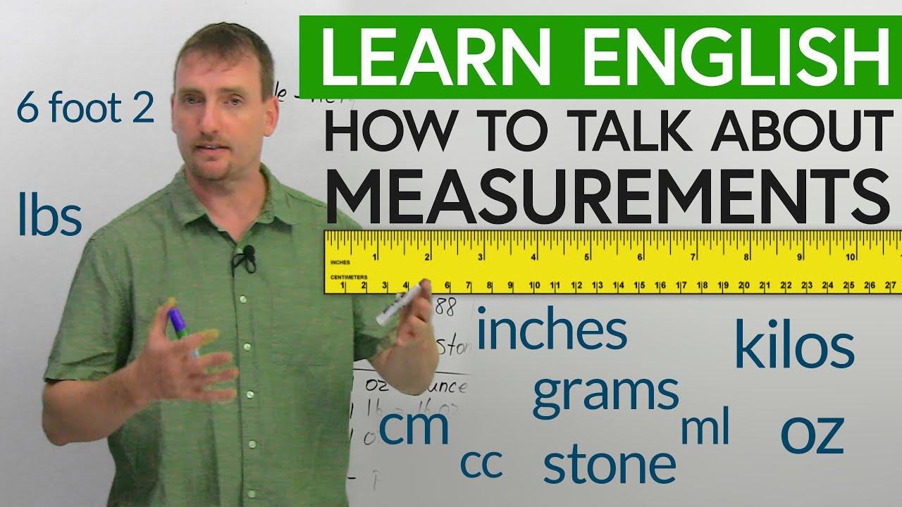 Measurements Cm M Km Lb Kg