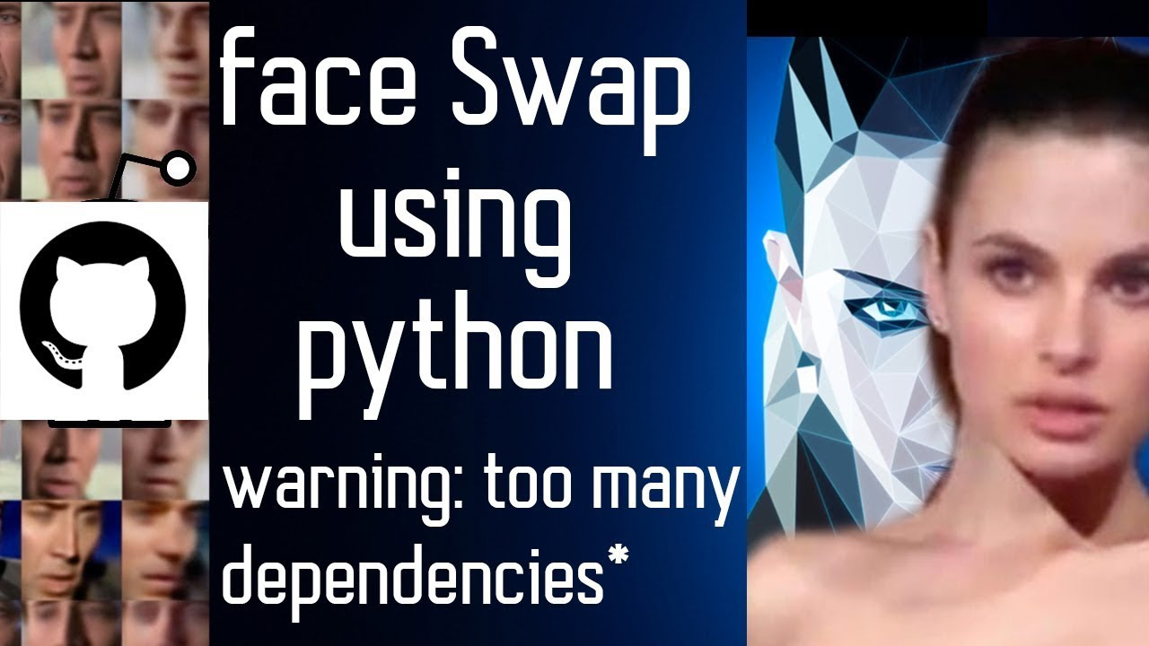 Deepfakes open source FaceSwap Using Python (cloning Github and  installation from scratch)