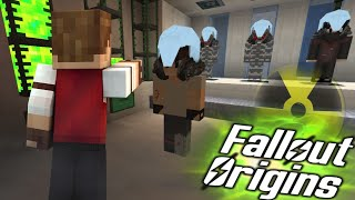 FIRST TEST SUBJECT COMPLETE! Minecraft FALLOUT ORIGINS #26 ( Minecraft Roleplay SMP )