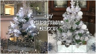 💎🎀DOLLAR TREE DIY CHRISTMAS DECOR | MIRROR CHRISTMAS TREE | PETALISBLESS 🎀💎