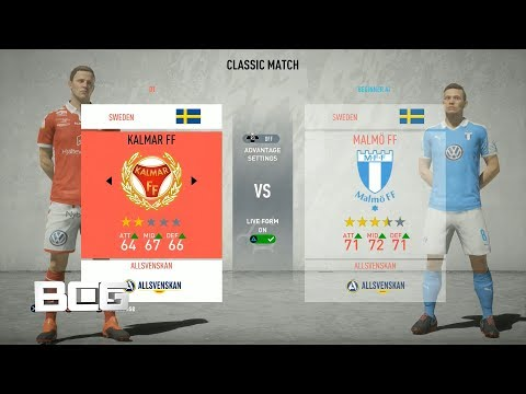 Swedish Allsvenskan Ratings Kits Fifa 20 Youtube