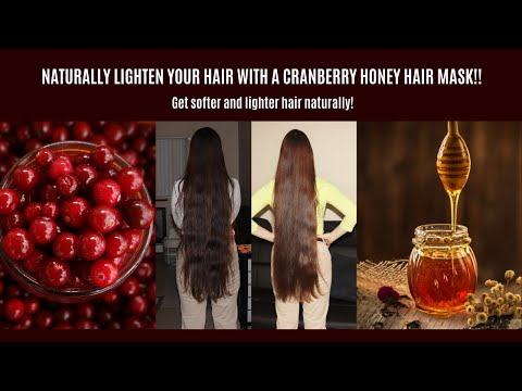 naturally-lighten-your-hair-with-a-cranberry-honey-hair-mask!!!