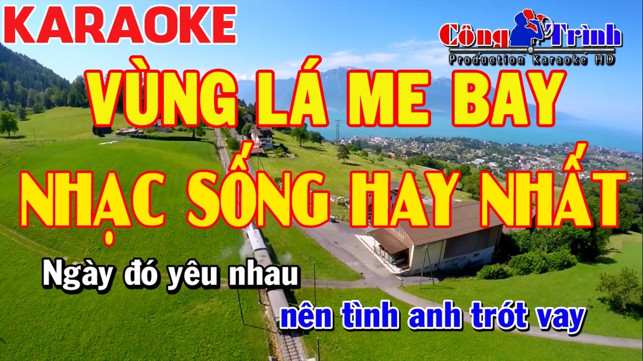 Karaoke | Vùng Lá Me Bay | Full Beat | Beat Chuẩn | Nhạc Sống Công Trình | KeyBoard Trường Giang