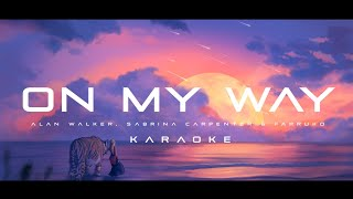 Gambar cover Alan Walker, Sabrina Carpenter & Farruko - On My Way (Karaoke)