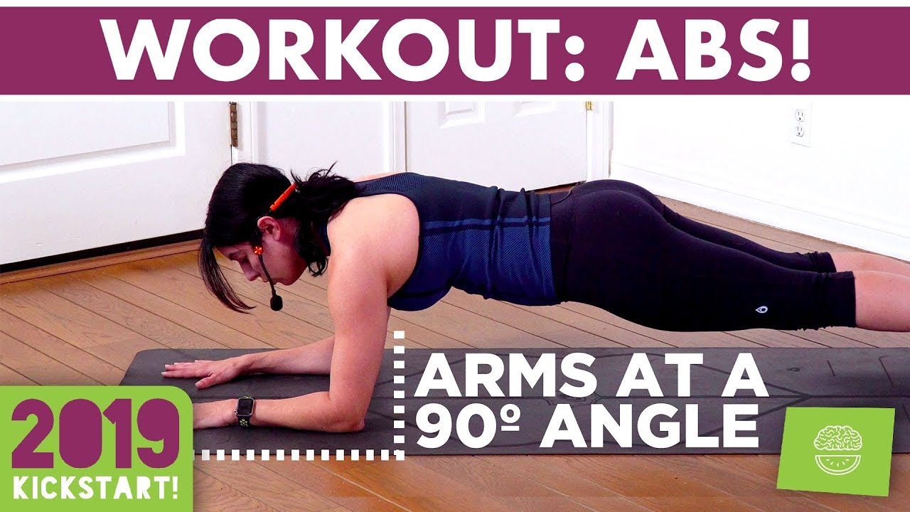 Killer 10 minute ab workout! #kickstart2019