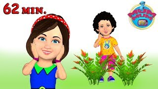 Chubby Cheeks Dimple Chin | Wheels on the Bus | Popular Nursery Rhymes Collection - Mum Mum TV thumbnail