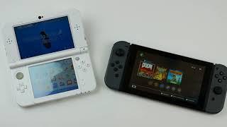 Nintendo Switch vs 3DS XĻ kurzer Vergleich german/Deutsch
