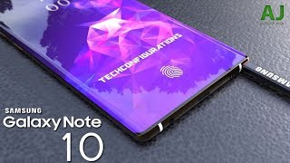 Samsung Galaxy Note 10 - KILLER LEAKS!!!