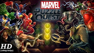 Marvel Puzzle Quest Android Gameplay [60fps] [APK]
