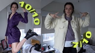 letting my parents rate my outfits from boohoo + try on haul