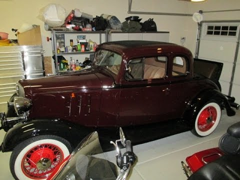 Driving a 1933 Chevrolet Master 5 Window Coupe