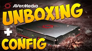 UNBOXING - AverMedia Game Capture HD II + Configuration
