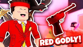 "NUOVO RED GODLY!! ""SUPER RARE"" (Roblox Murder Mystery 2)"