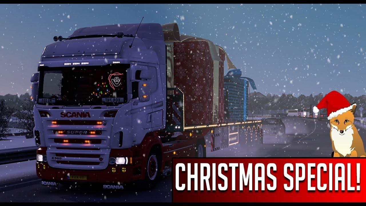 Euro Truck Simulator 2 Christmas Special ile ilgili görsel sonucu