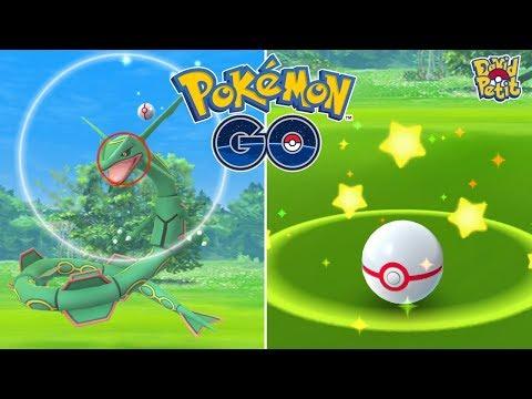 BUSCANDO EL RAYQUAZA 100%! CASI 20 INCURSIONES EN UN DÍA! [Pokémon GO-davidpetit] thumbnail