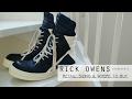 The Rick Owens Geobaskets