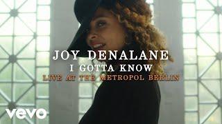 Joy Denalane - I Gotta Know (Live at the Metropol Berlin 2020)