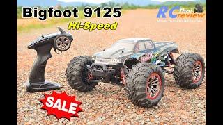 ขาย ! BIGFOOT 9125 4WD 1:10 รถบังคับ เร็วจัด สะใจ กันน้ำ ราคา3,000บ.T.081-0046515 id.thaiworldtoy