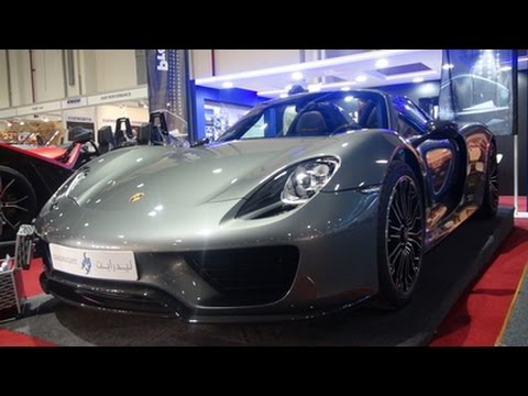 porsche 918 spyder custom show 2015 youtube. Black Bedroom Furniture Sets. Home Design Ideas