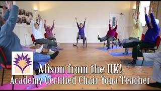 Creative Seated Cat Cow Flow with Alison and her Gang from the UK