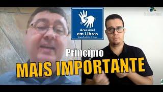 O Princípio mais importante da vida do cristão ensinado por Paulo   Rev. Adelson Garcia #Libras