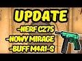 NERF CZ75 I Odświeżony MIRAGE - Omówienie Updatu CS:GO