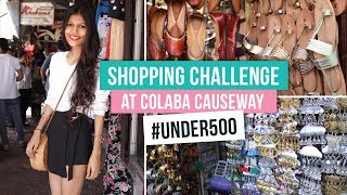 Shopping Challenge At Colaba Causeway #Under500 | Pinkvilla | Fashion | Bollywood