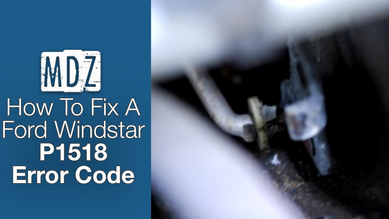 medium resolution of 2001 ford windstar fix for check engine light code p1518 intake manifold runner control stuck open