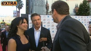 hilaria and alec baldwin talk plane rides and babies