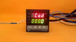 Быстрая настройка терморегулятора REX-C100. Kulibin.su