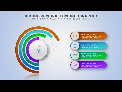 How To Create an Impressive Business Workflow Process Infographic in Microsoft Office PowerPoint PPT