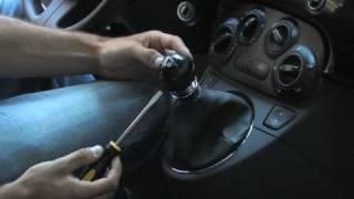 Montaggio pomello BLACK Fiat 500