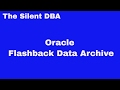 Oracle Flashback Data Archive