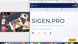 How to Exchange PRIZM coin to Bitcoin in Sigen pro Website