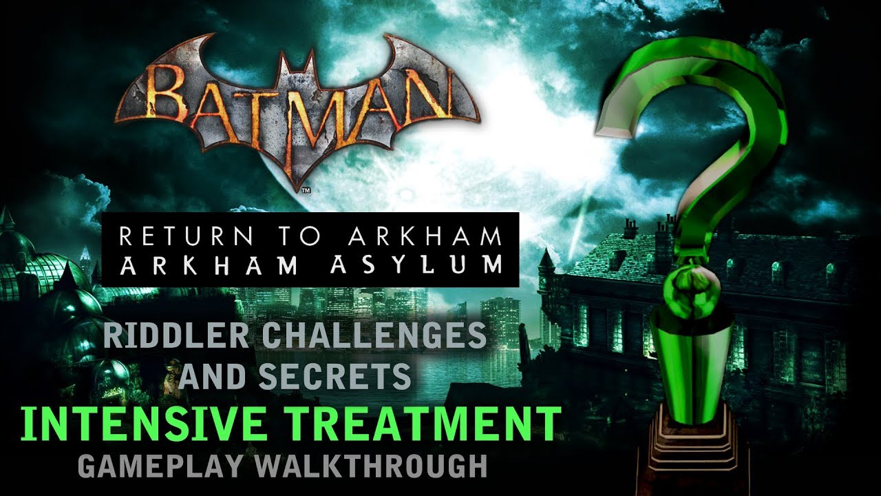 arkham asylum riddler hook up with relatives