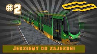 Trainz Simulator 2004 Moderus Alfa | MPK Poznań | Zjazd do zajezdni Głogowska