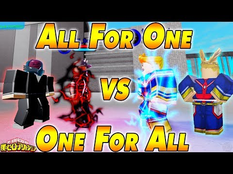 NEW 160K CODE All For One VS One For All  Boku No Roblox Remastered