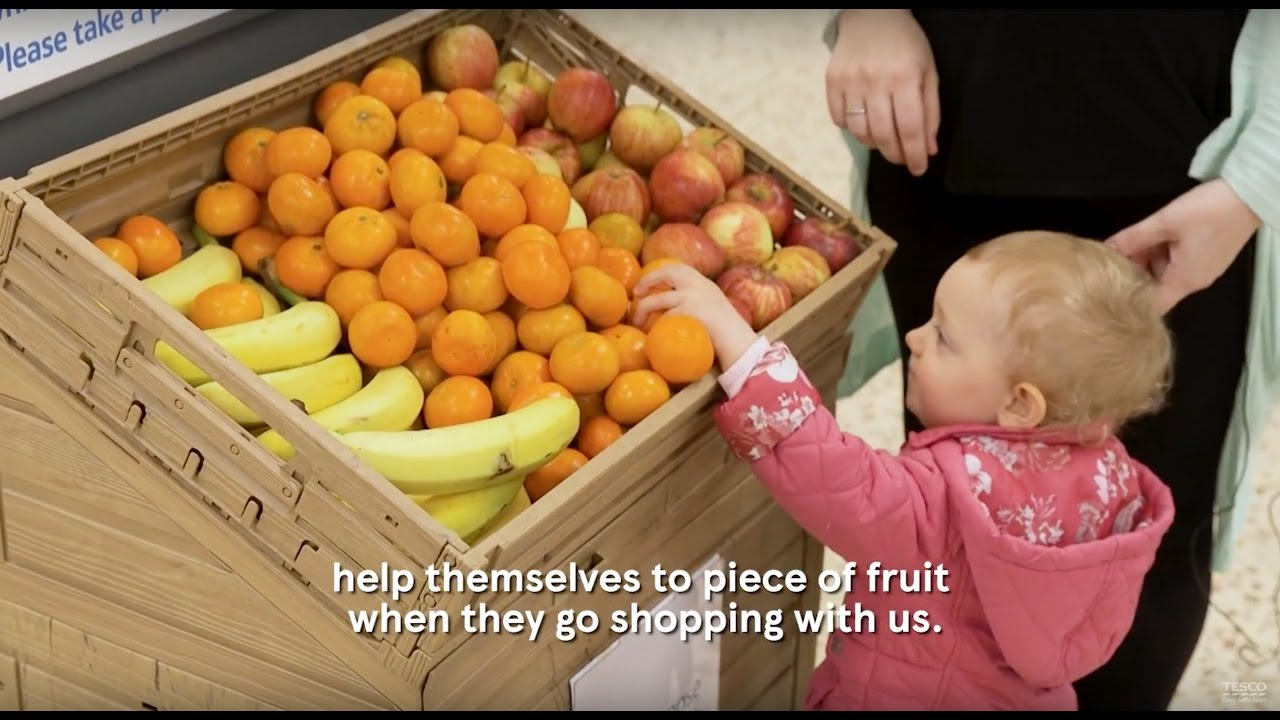 Tesco | Free Fruit for Kids