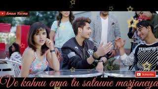 Koi Vi Nahi - Shirley Setia, Gurnazar Lyrics New whatsapp status Cute romantic whatsapp status