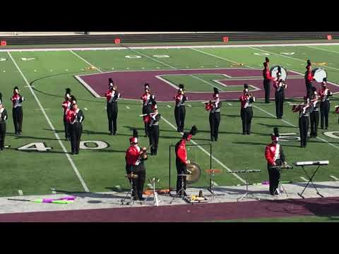 2018 Saranac High School Marching Band @ Grandville Competition