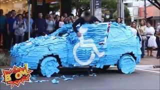 FUNNY PRANK: CAR FULL OF POST-IT...
